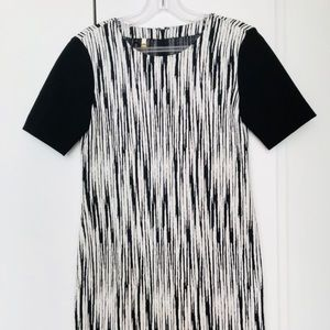 4. collective Black And White Dress